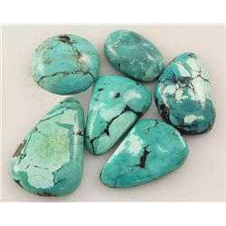 Natural Turquoise 155.07ctw Loose Small Gemstone Lot of