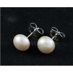 16.92CTW PEACH SIOPAO EARRING PHILIPPINES