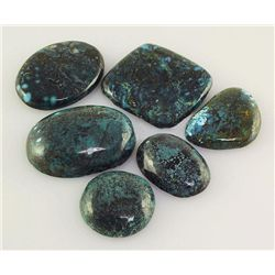 Natural Turquoise 229.55ctw Loose Gemstone Lot of 5