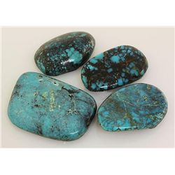 Natural Turquoise 224.05ctw Loose Gemstone 3pc Big Size