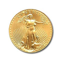 Half Ounce 2007 US American Gold Eagle Uncirculated