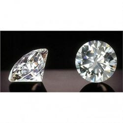 CERTIFIED Round 0.50 Carat F,SI2, EGL ISRAEL