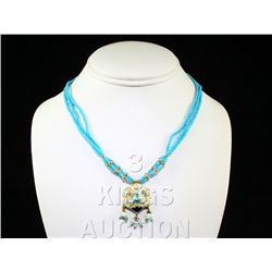 10.55GRAM INDIAN HANDMADE LAKH FASHION NECKLACE