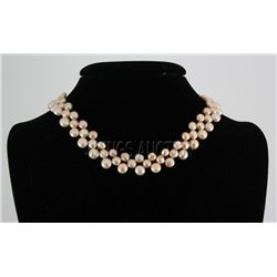 "227.57CTW 12"" PEACH SIOPAO NECKLACE METAL LOCK PHILIPPI"