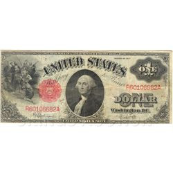 $1 1917 Legal Tender Note, G-VG
