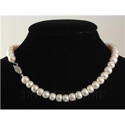 SET OF SIOPAO PEARL NECKLACE & EARRING TOTAL 327.15CTW