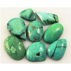 Natural Turquoise 161.16ctw Loose Small Gemstone Lot of
