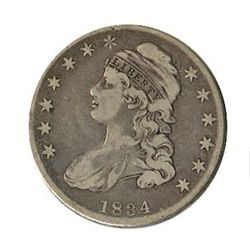 Early Type Bust Half Dollar 1807-1836 G-VG