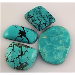 Natural Turquoise 200.05ctw Loose Gemstone Lot of 5