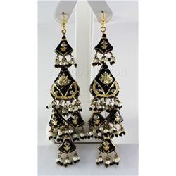 21.23GRAM INDIAN HANDMADE LAKH FASHION EARRING