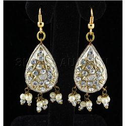 5.71GRAM INDIAN HANDMADE LAKH FASHION EARRING