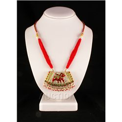 27.14GRAM INDIAN HANDMADE LAKH FASHION NECKLACE