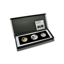 2012 Israel Sea of Galilee Gold & Silver 3-Coin Set