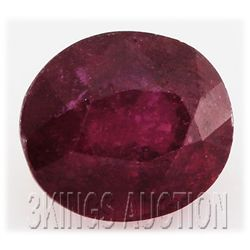 8.57ctw African Ruby Loose Gemstone