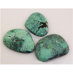 Natural Turquoise 222.66ctw Loose Gemstone 4pc Big Size