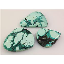 Natural Turquoise 214.23ctw Loose Gemstone Lot of 5