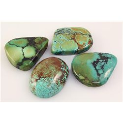 Natural Turquoise 211.46ctw Loose Gemstone Lot of 5