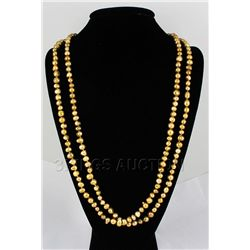 634.00CTW Natural Freshwater Pearl Necklace