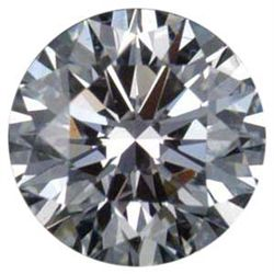 CERTIFIED Round 0.50 Carat D,SI2, EGL ISRAEL