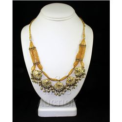 29.38GRAM INDIAN HANDMADE LAKH FASHION NECKLACE