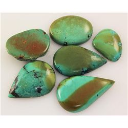 Natural Turquoise 156.35ctw Loose Small Gemstone Lot of