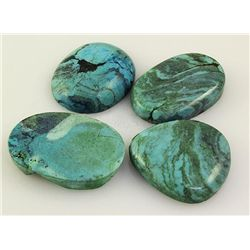 Natural Turquoise 212.93ctw Loose Gemstone 3pc Big Size