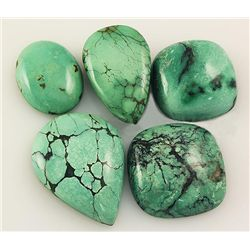 Natural Turquoise 164.10ctw Loose Small Gemstone Lot of