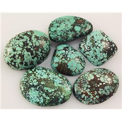 Natural Turquoise 152.96ctw Loose Small Gemstone Lot of