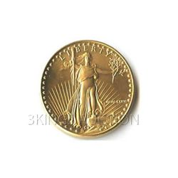 Uncirculated One-Tenth Ounce 1986 US American Gold Eagl
