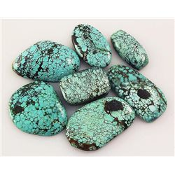 Natural Turquoise 159.90ctw Loose Small Gemstone Lot of