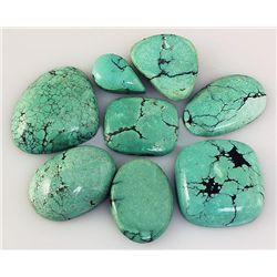 Natural Turquoise 165.33ctw Loose Small Gemstone Lot of