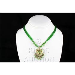 13.52GRAM INDIAN HANDMADE LAKH FASHION NECKLACE