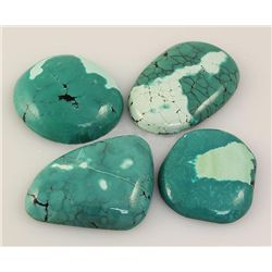 Natural Turquoise 213.48ctw Loose Gemstone 3pc Big Size