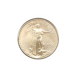 Half Ounce 1995 US American Gold Eagle Uncirculated NO