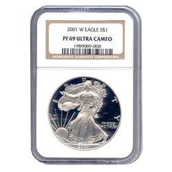 Certified Proof Silver Eagle PF69 2002