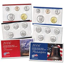 Uncirculated Mint Set 2006