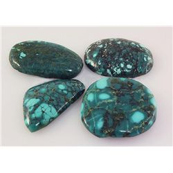Natural Turquoise 240.63ctw Loose Gemstone 3pc Big Size