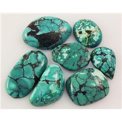 Natural Turquoise 157.66ctw Loose Small Gemstone Lot of