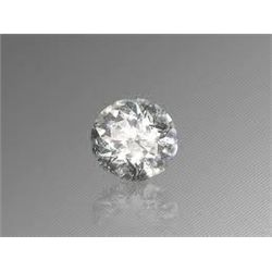 EGL CERT 0.51 CTW ROUND DIAMOND I/VS2