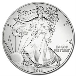 Uncirculated Silver Eagle 2011