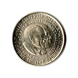 US Commemorative Half Dollar 1952-P Washington Carver B