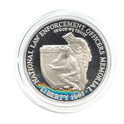 US Commemorative Dollar Proof 1997-P Law Enforcement