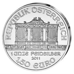Austrian Philharmonic Silver One Ounce 2011