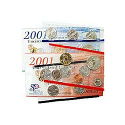 Uncirculated Mint Set 2001