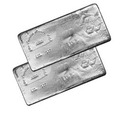 Silver Bars: Random Manufacturer 100 oz Bar .999 fine