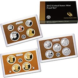 US Proof Set 2012
