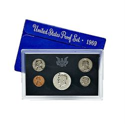 US Proof Set 1969