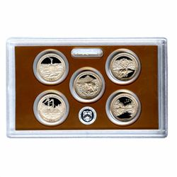 US Proof Set National Parks Quarters Without Box 2011