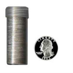 90% Silver Proof Washington Quarters Roll (40 pcs.)