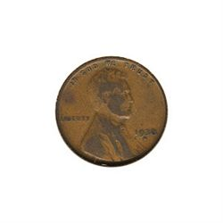 Lincoln Cent G-VG 1930-D